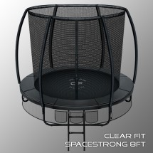 Батут Clear Fit SpaceStrong 8 ft