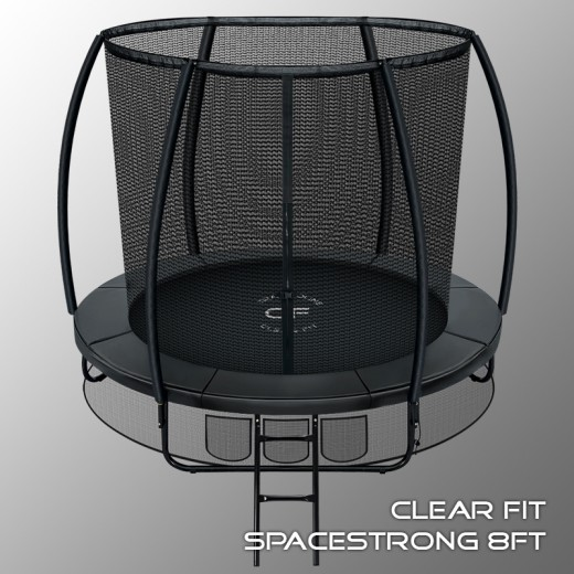 Батут Clear Fit SpaceStrong 8 ft —